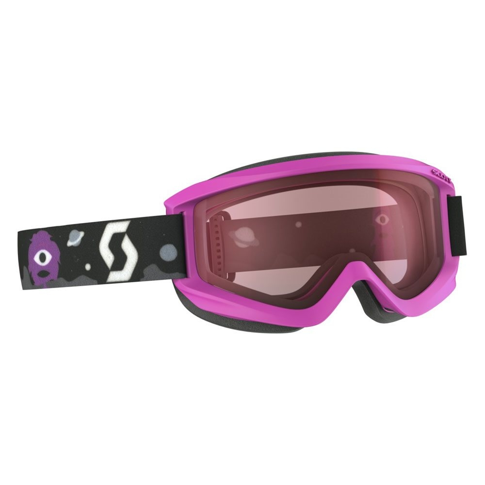 fba2be5075ca Scott Agent Junior Goggle Pink with Amplifier Lens 2017