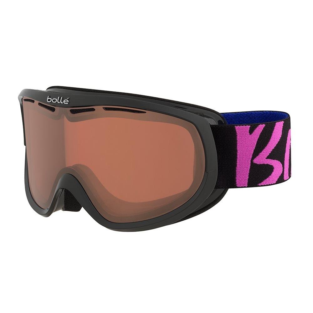 196f5b550e2 Bolle Sierra Ladies Goggle Black and Pink Vermillon Gun - Snowtrax