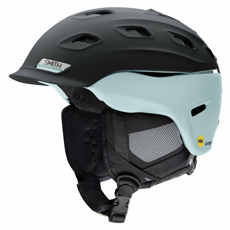 Smith Vantage W MIPS Helmet Matte Black Pale Mint 2020