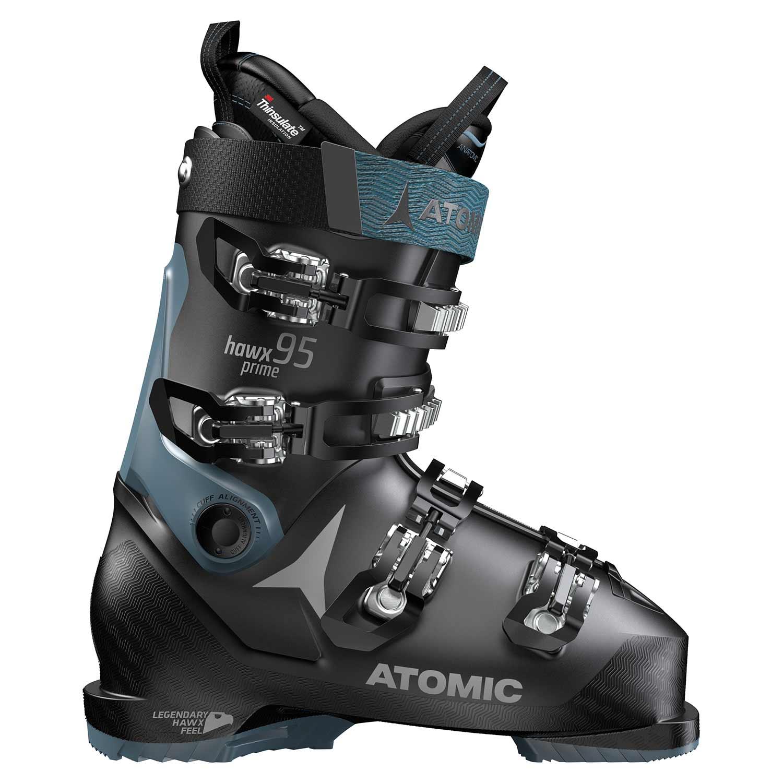 Atomic Hawx Prime 95 W Ski Boot Black/Denim Blue 2020