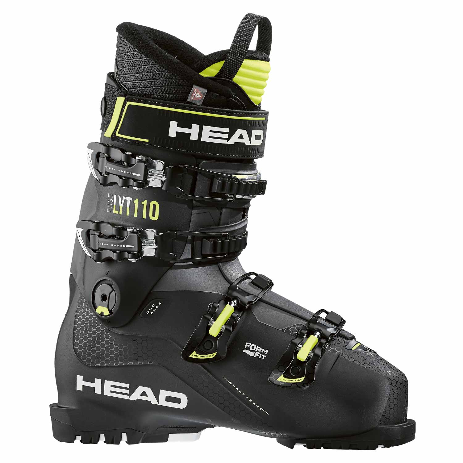 Head Edge LYT 110 Ski Boot Black/Yellow 2020
