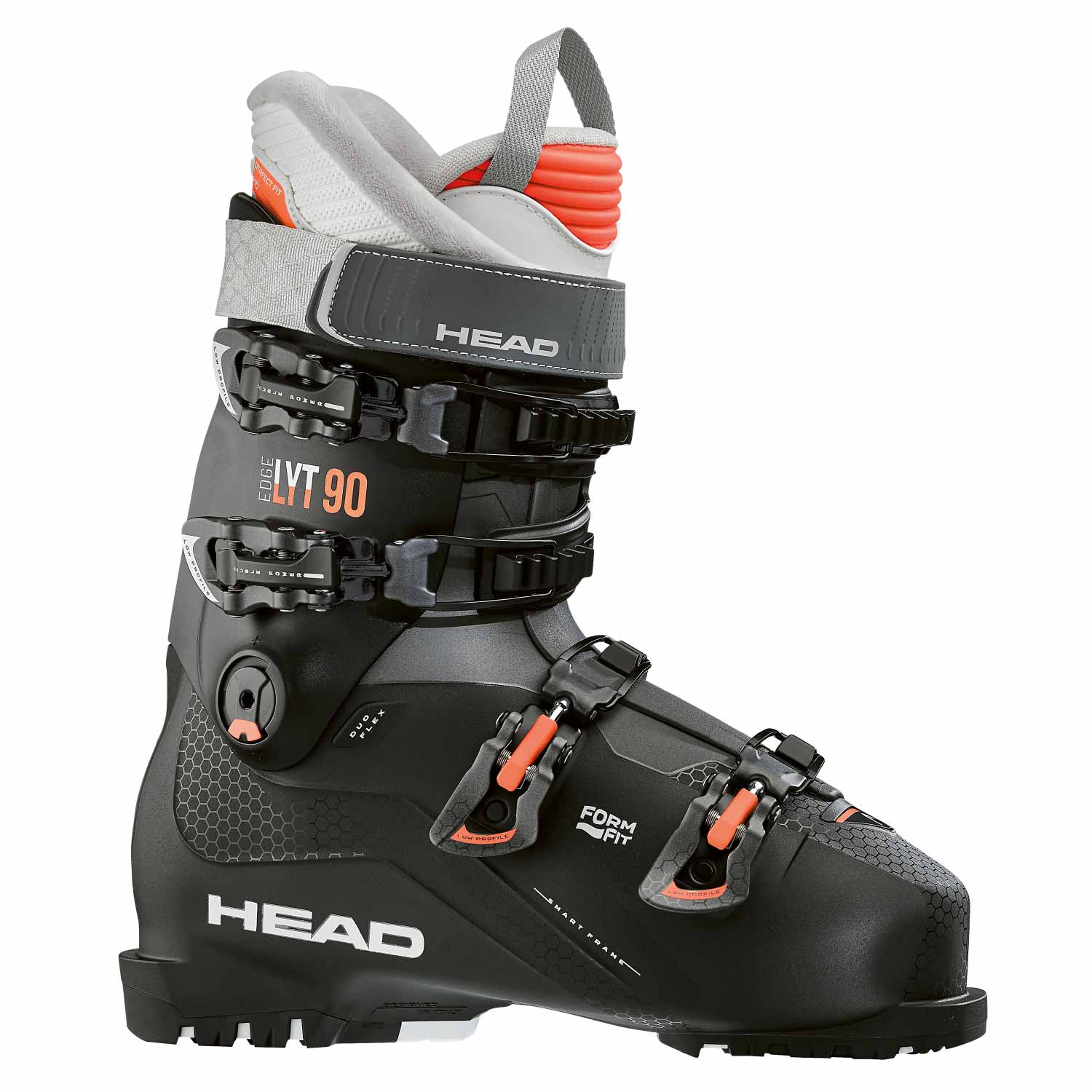 Head Edge LYT 90 W Ski Boot Black/Salmon 2020