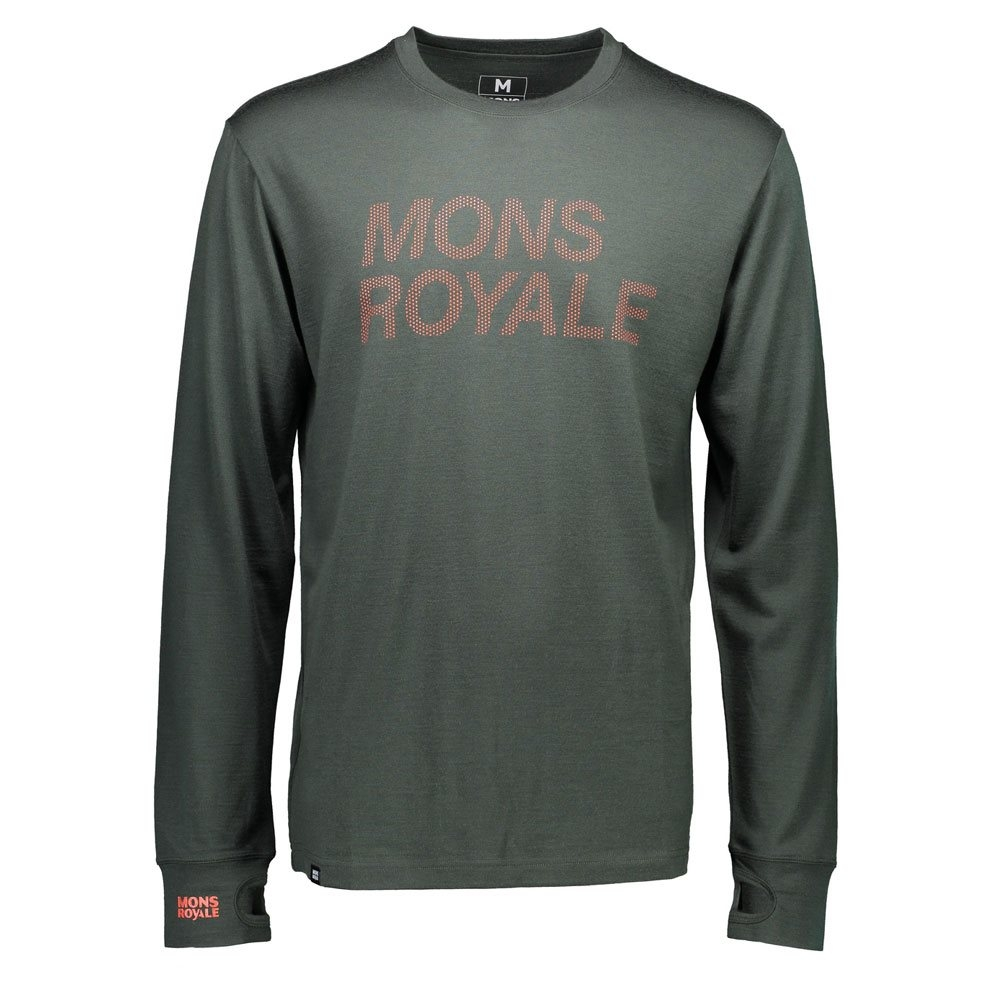 Mons Royale Original LS Forest Green 2018