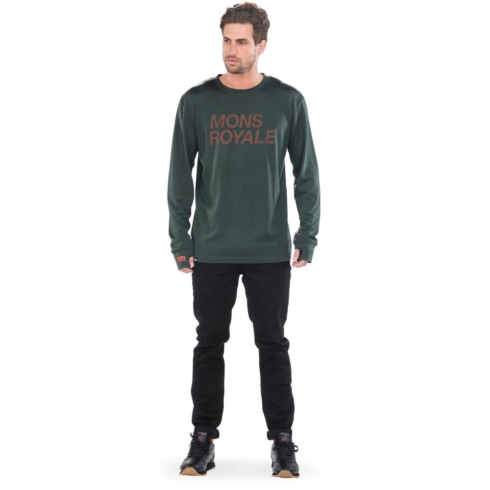 Mons Royale Original LS Forest Green 2018