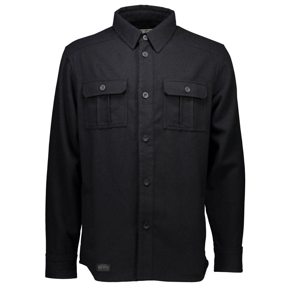 Mons Royale Mountain Shirt Black 2018