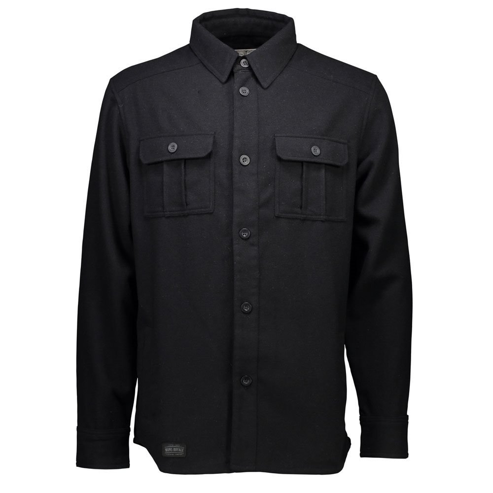Mons Royale Mountain Shirt Black 2018