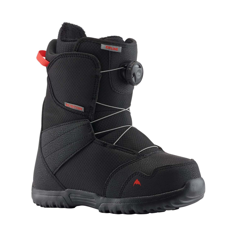 Burton Zipline BOA Snowboard Boot Black