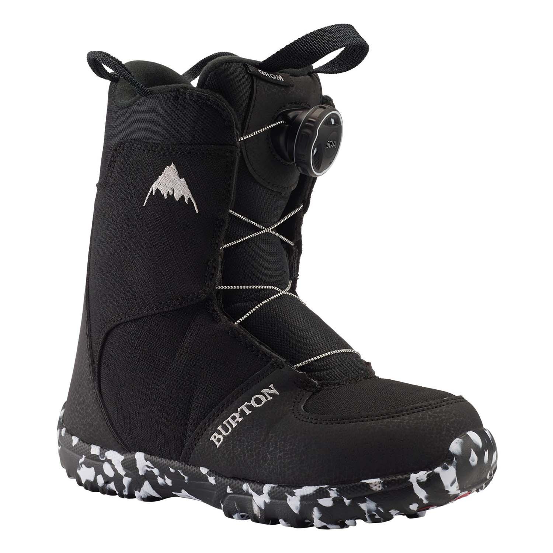 erityinen tarjous julkaisutiedot saada verkkoon Burton Grom BOA Snowboard Boot Black 2020