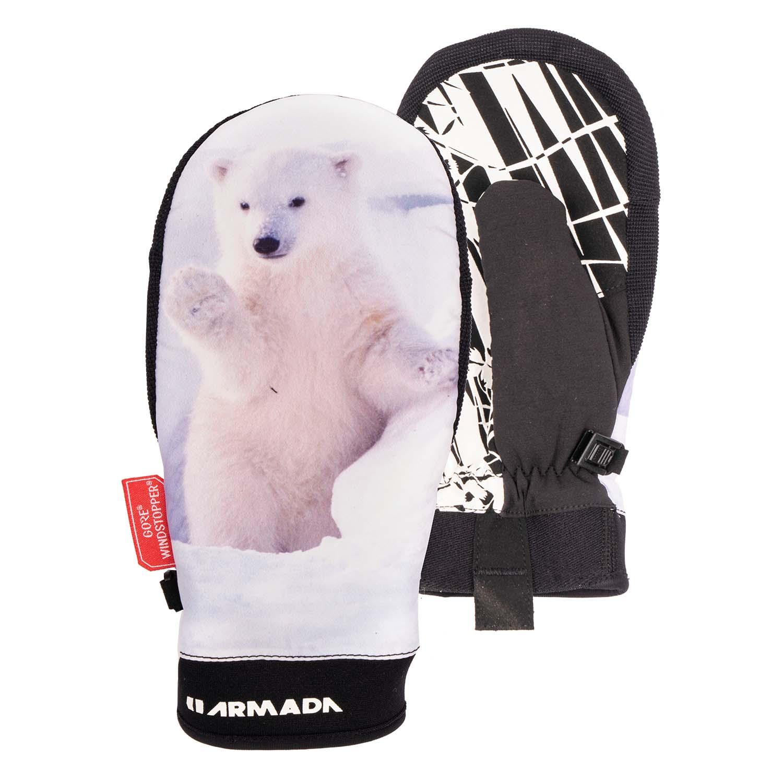 Armada Women s Carmel Windstopper Mitt Polar Cub 2020