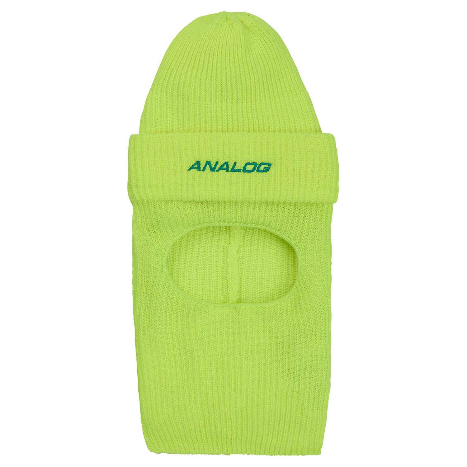 Analog Double D Facemask Beanie High Viz 2020