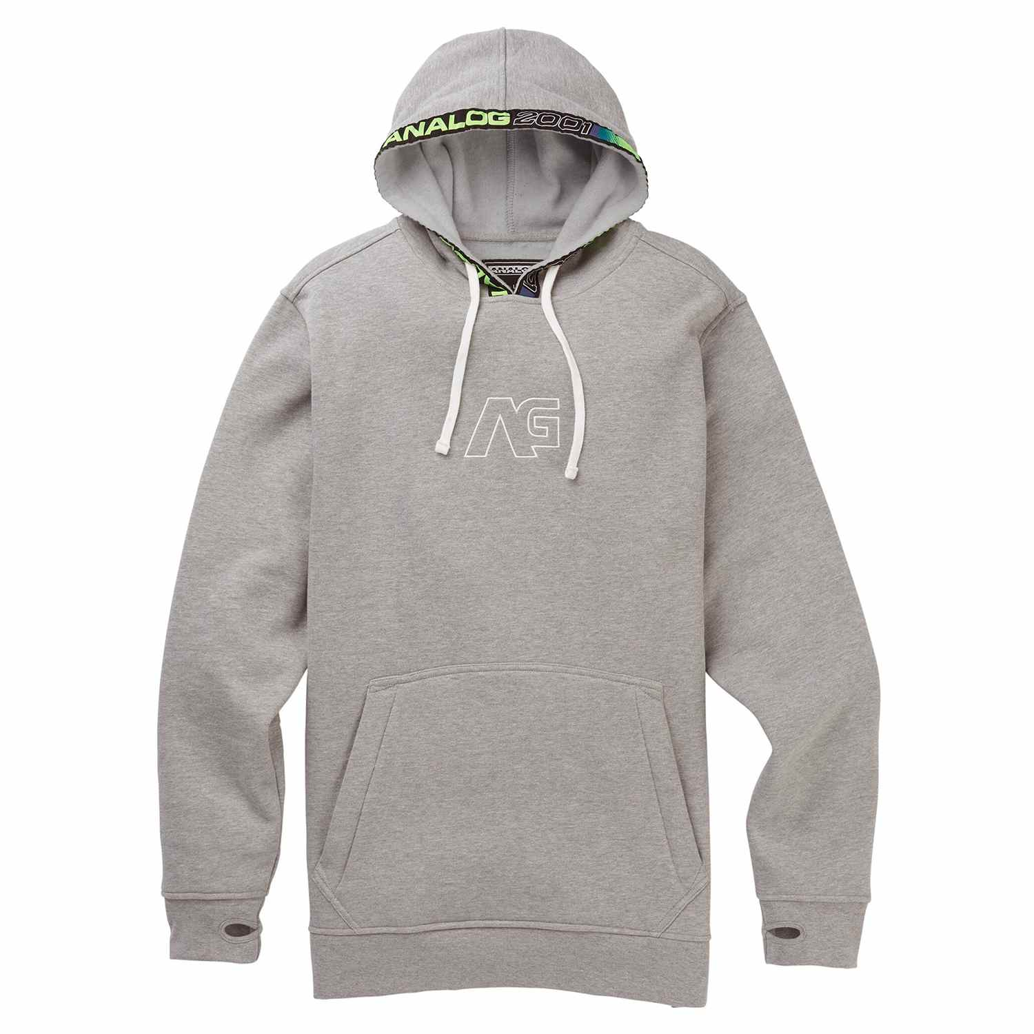 Analog Crux Pullover Gray Heather 2020