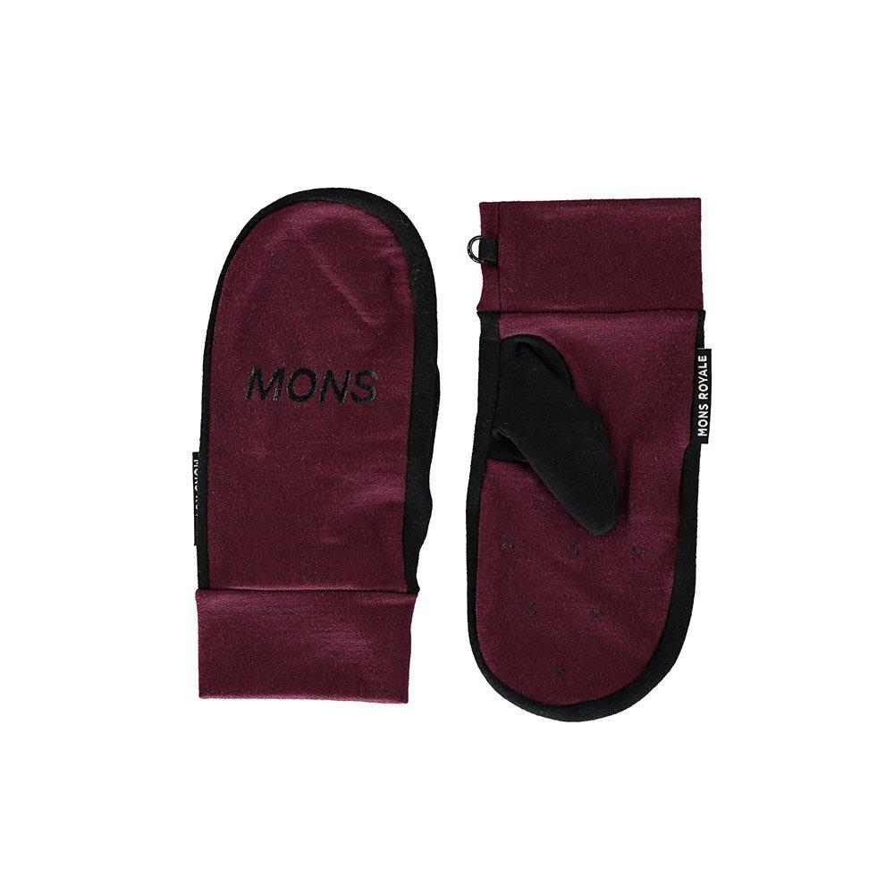 Mons Royale Magnum Mitts Burgundy/Black 2018