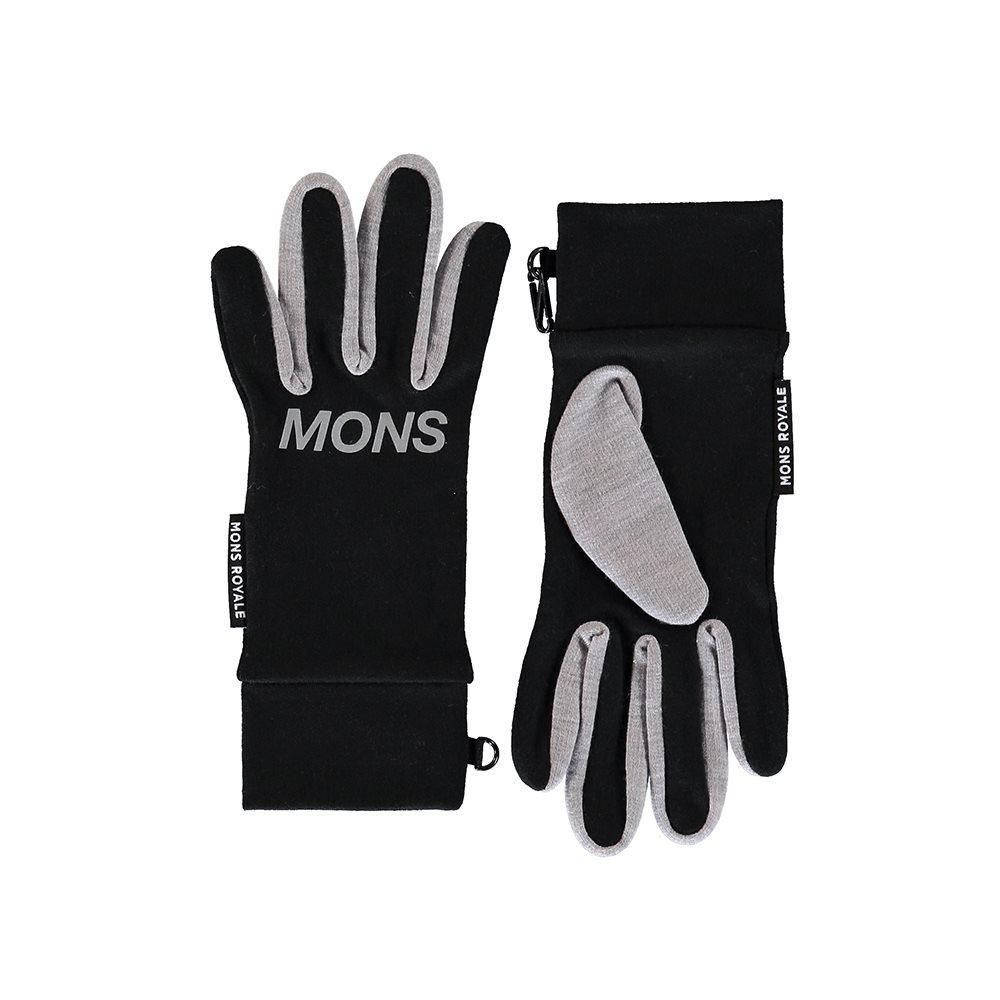 Mons Royale Elevation Gloves Black 2018