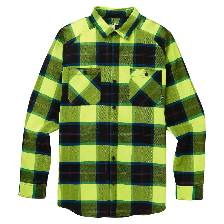 Analog Transmission Flannel Shirt High Viz Mind Plaid 2020