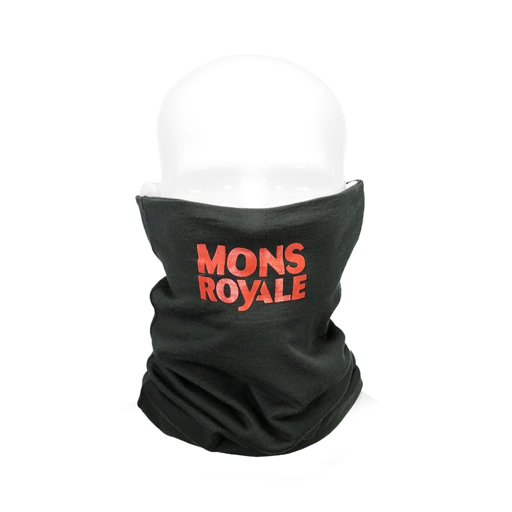 Mons Royale Double Up Neck Warmer Itallica Forest Green 2018