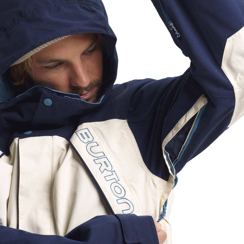 Burton Breach Jacket Dress Blue/Almond/Storm 2020