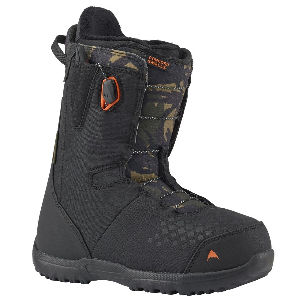 Burton Concord Smalls Junior Boot Black / Camo 2019