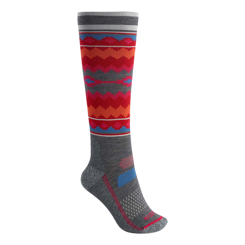 Burton Womens Performance Ultralight Sock Gray Heather 2020