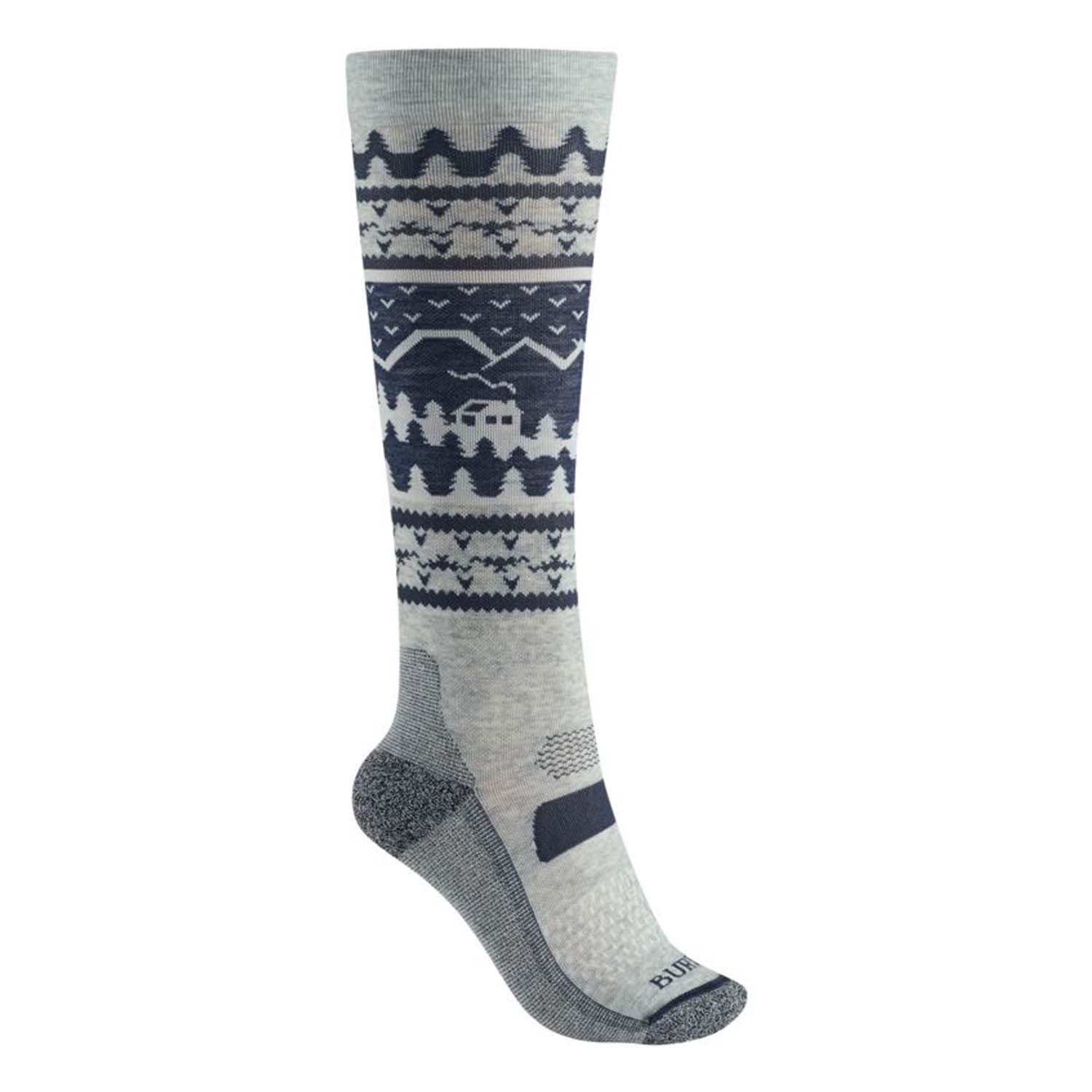 Burton Womens Performance Ultralight Sock Mood Indigo 2020