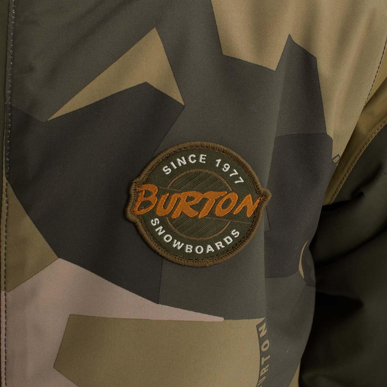 Burton Game Day Jacket Three Crowns Camo 2020