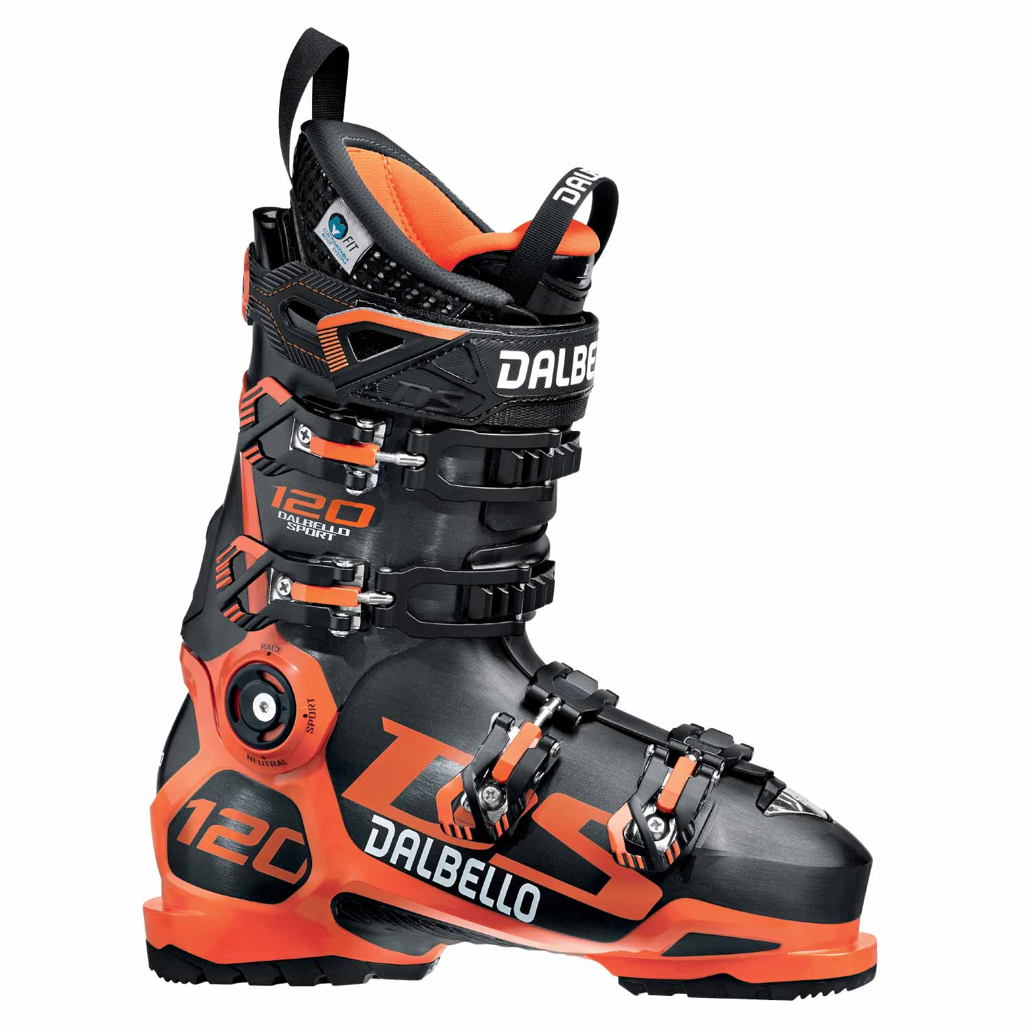 Dalbello DS 120 Ski Boot Black/Orange 2020