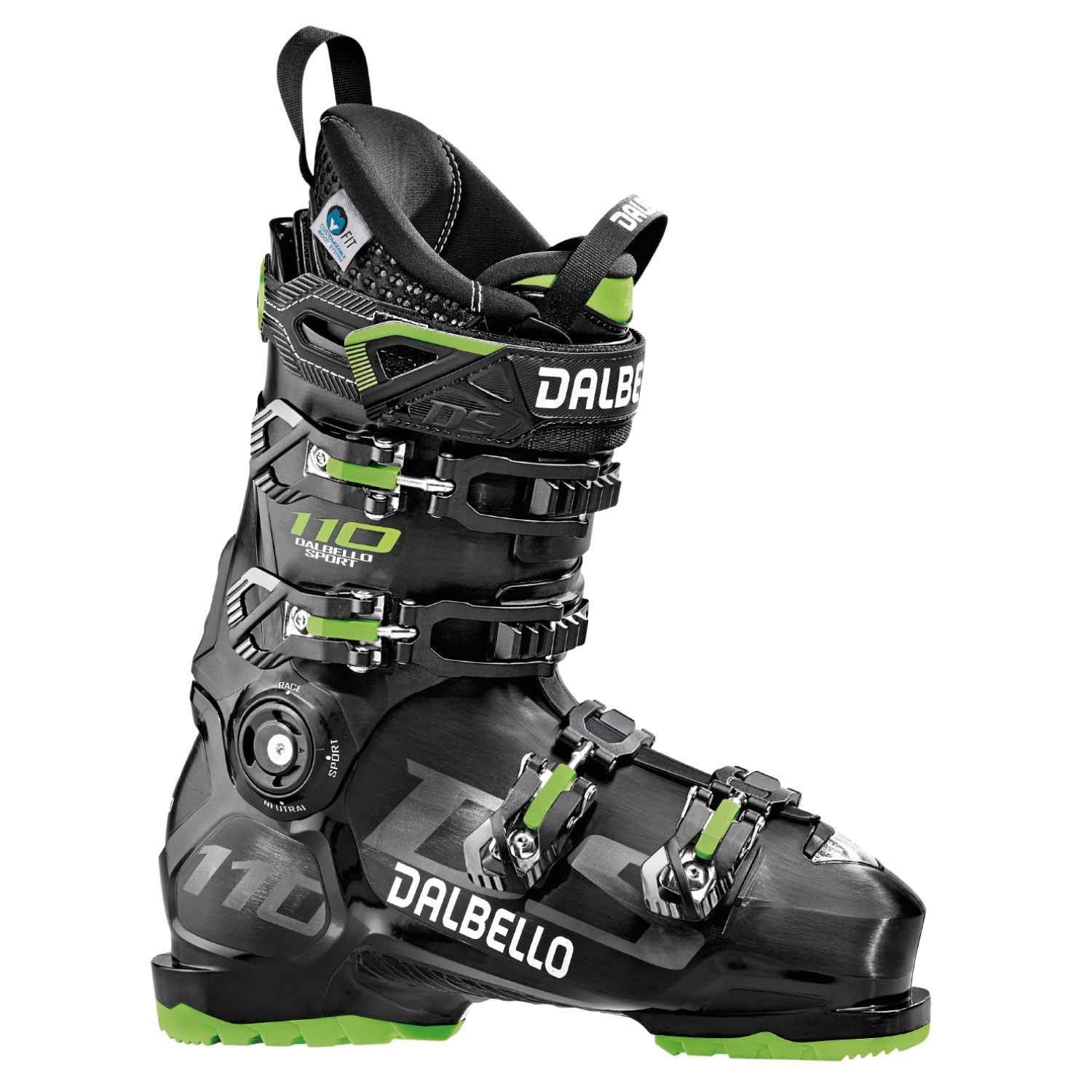 Dalbello DS 110 Ski Boot Black 2020
