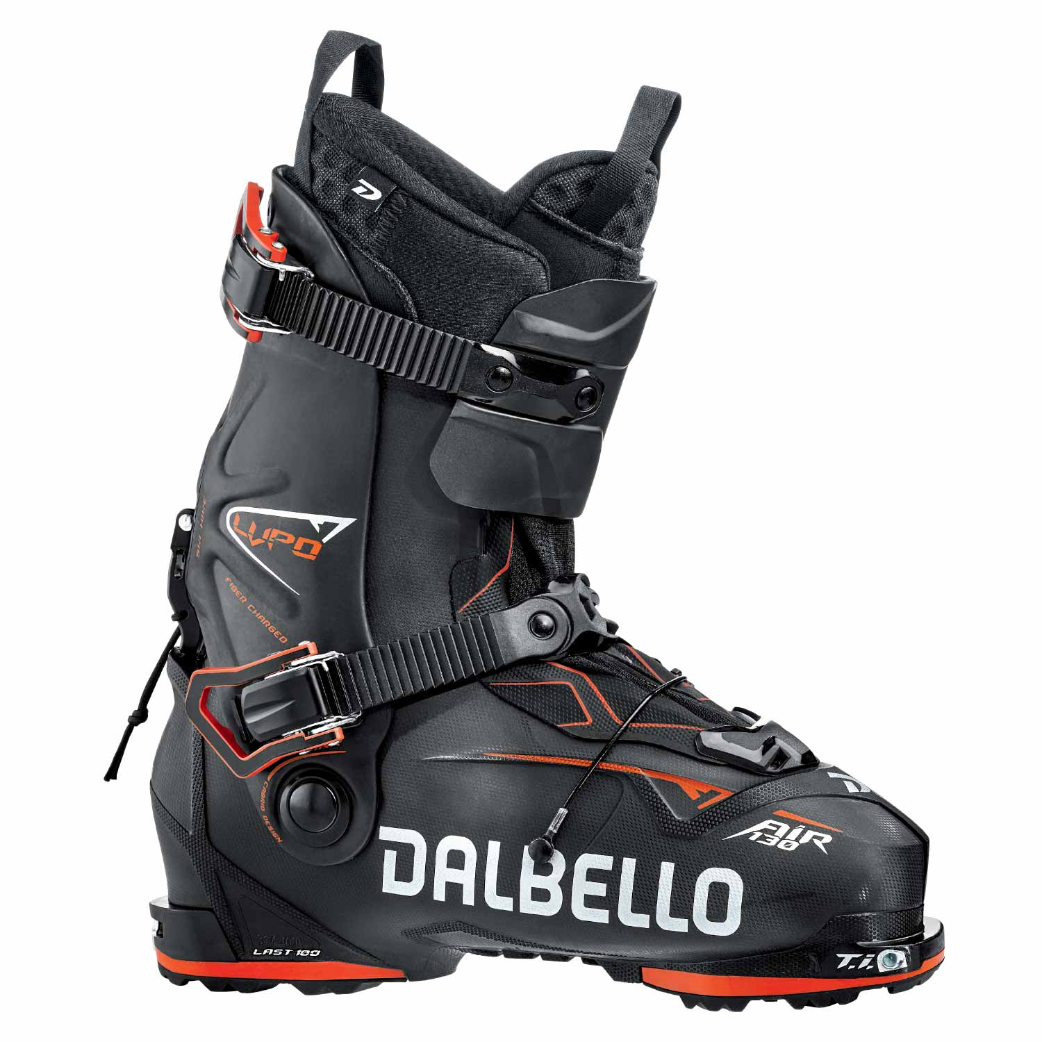 Dalbello Lupo AIR 130 Ski Boot Black/Red 2020