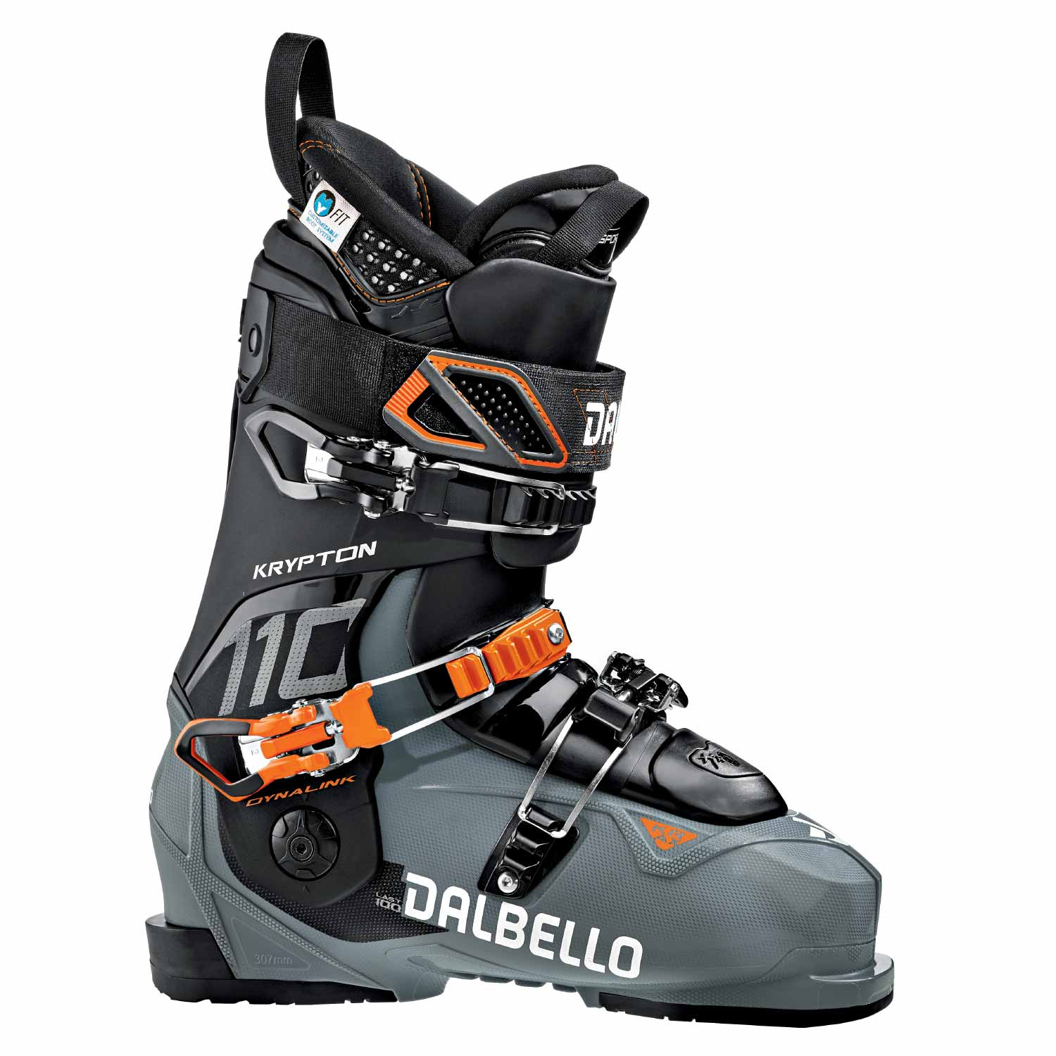 Dalbello Krypton AX 110 Ski Boot Gravel/Black 2020