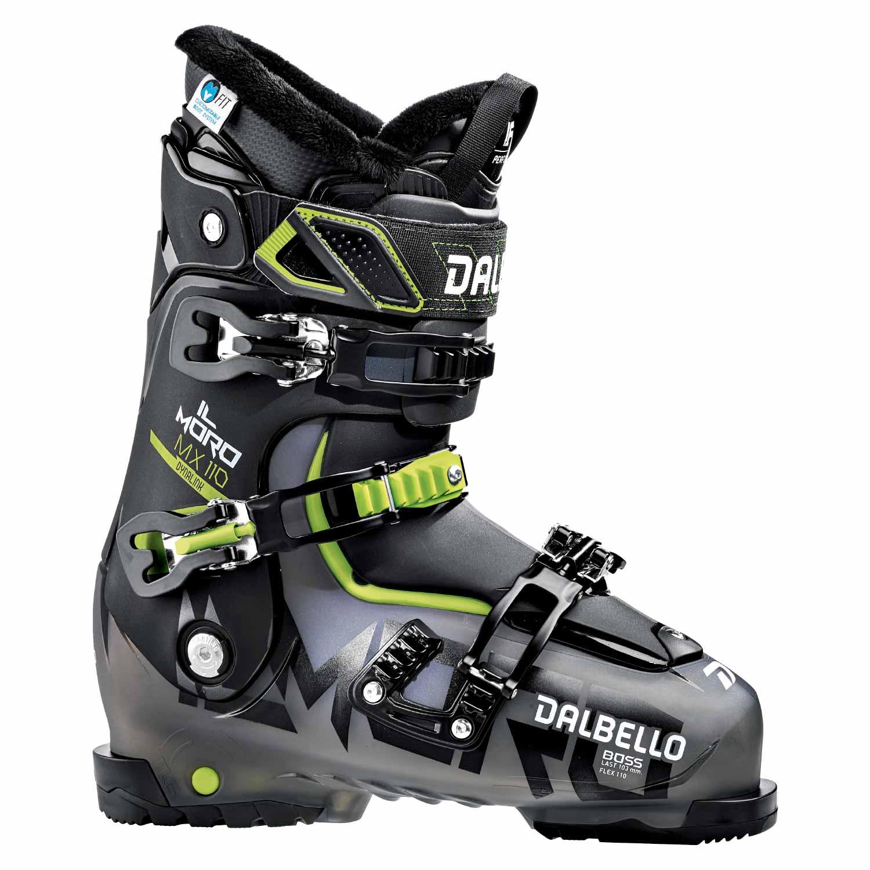 Dalbello Il Moro MX 110 Ski Boot Black Trans/Black 2020