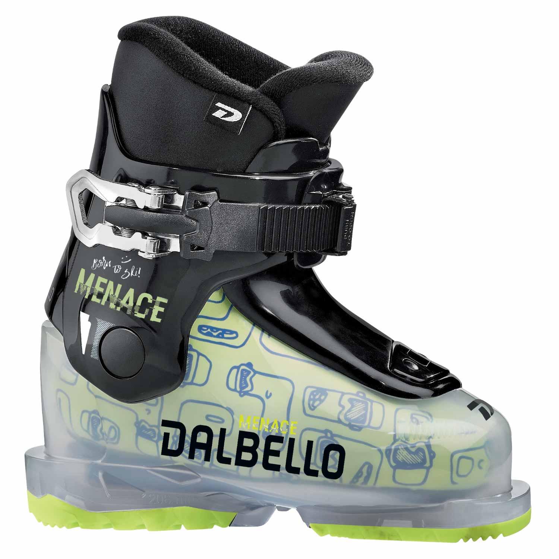 Dalbello Menace 1 0 Junior Ski Boot Transparent/Black 2020