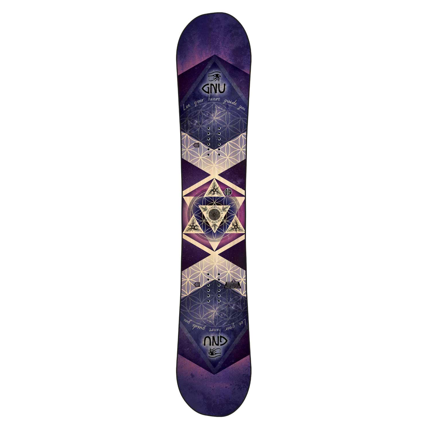 Gnu Asym Ladies Choice C2X Snowboard 2020