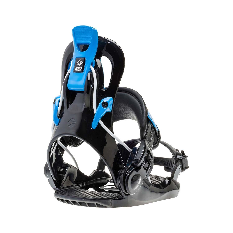 Gnu Gnunior Snowboard Binding Black 2020