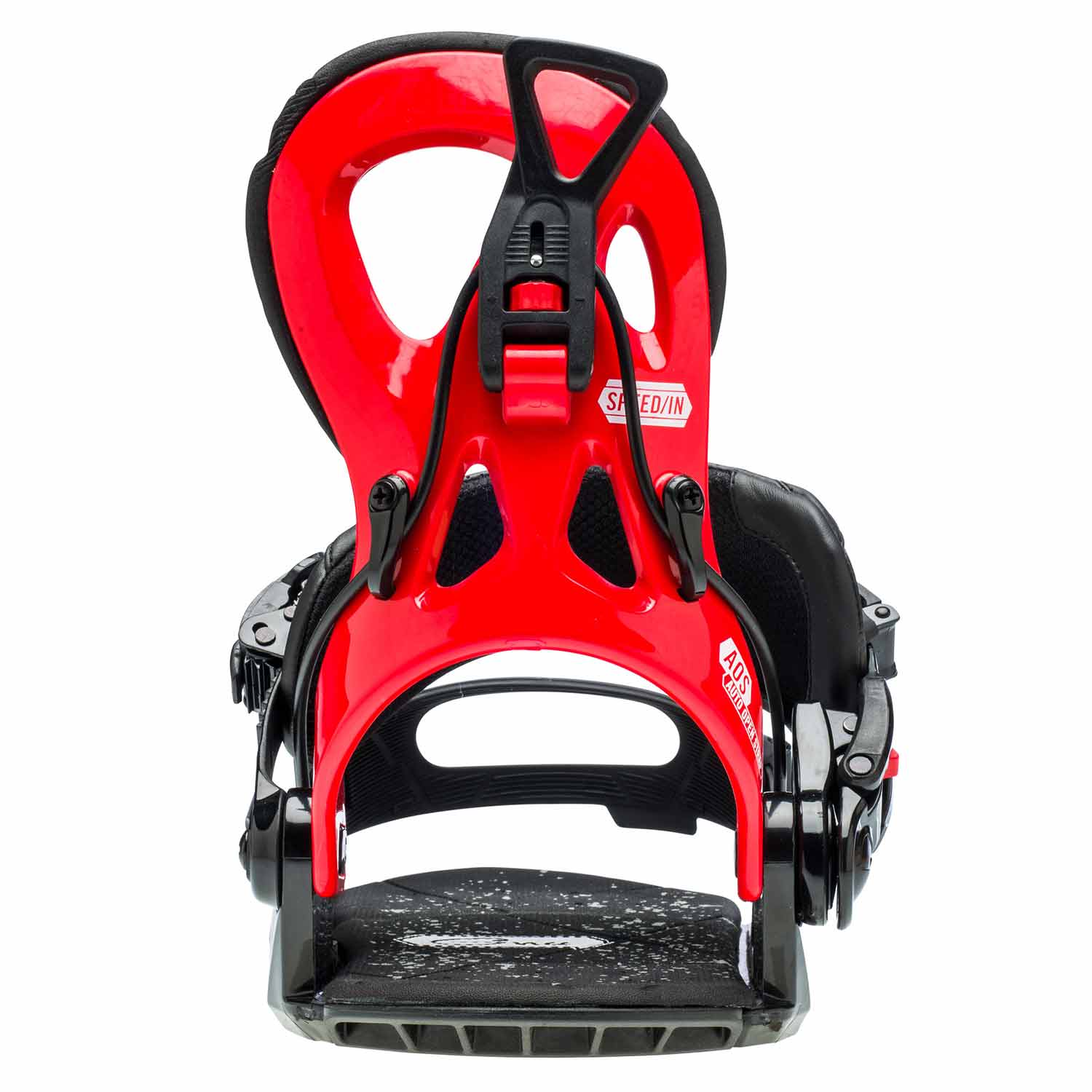 Gnu Cheeter Snowboard Binding Red 2020