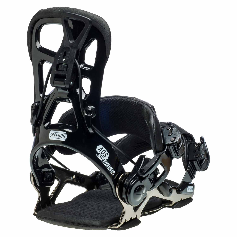 Gnu Psych Snowboard Binding Black 2020