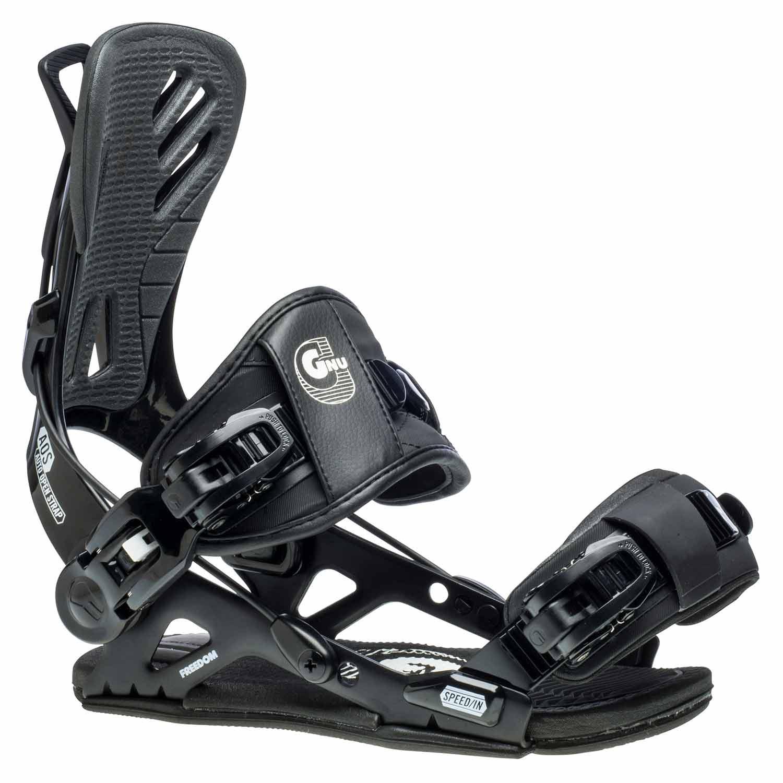 Gnu Freedom Snowboard Binding Black 2020
