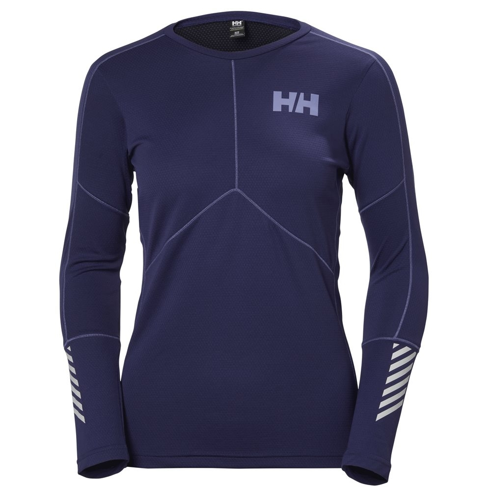 Helly Hansen Womens Lifa Active Crew Graphite Blue 2018