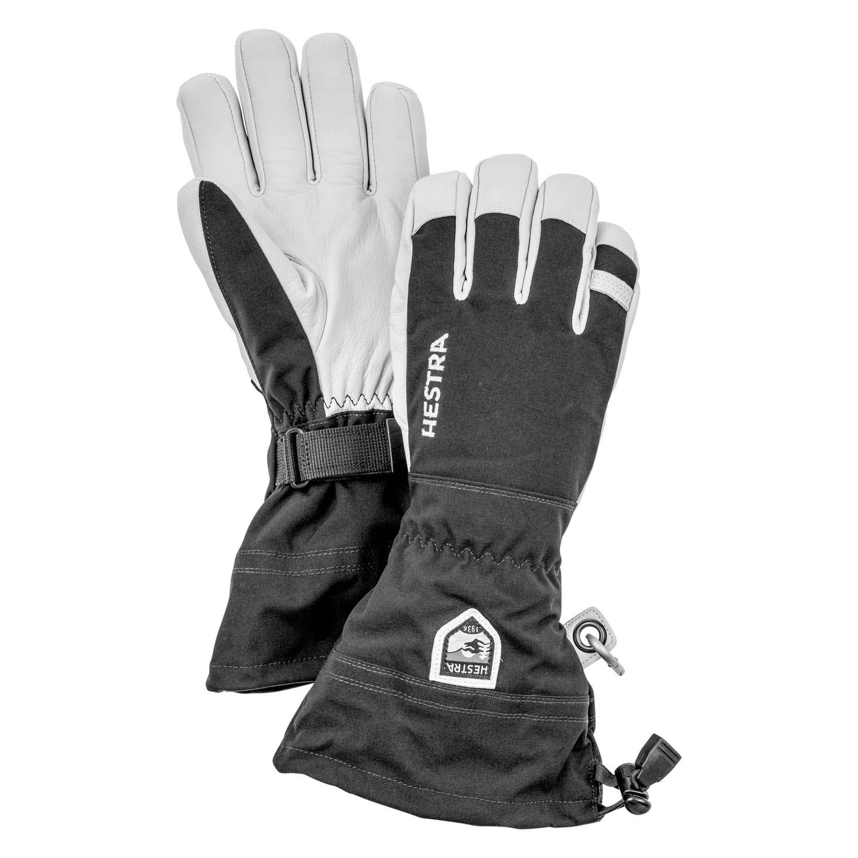 Hestra Army Leather Heli Ski Glove Black 2020