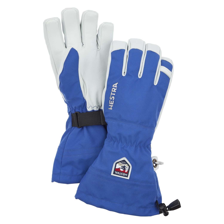 Hestra Army Leather Heli Ski Glove Blue 2020