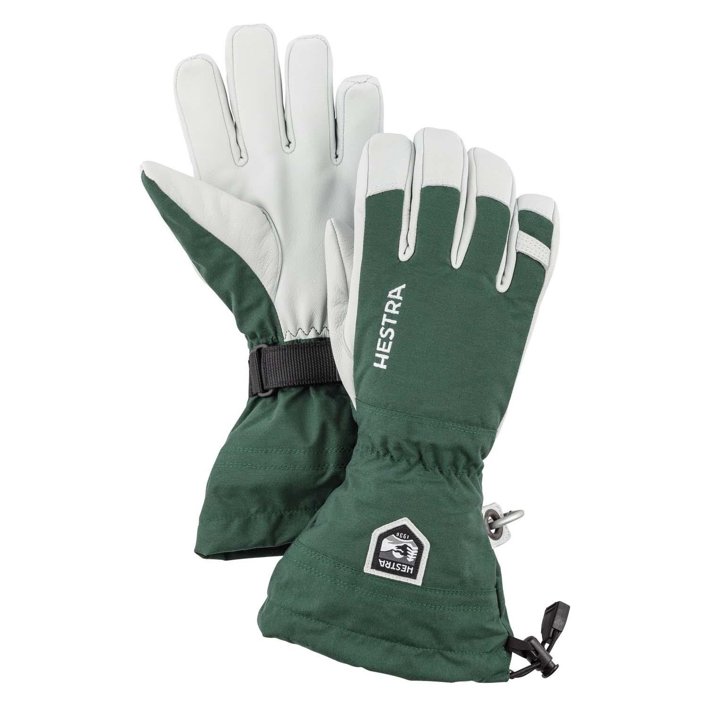 Hestra Army Leather Heli Ski Glove Green 2020