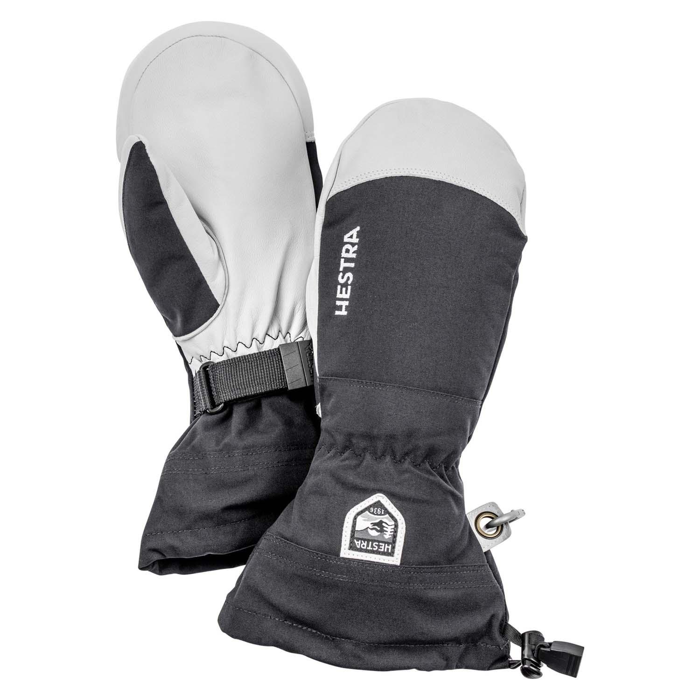 Hestra Army Leather Heli Ski Mitt Black 2020