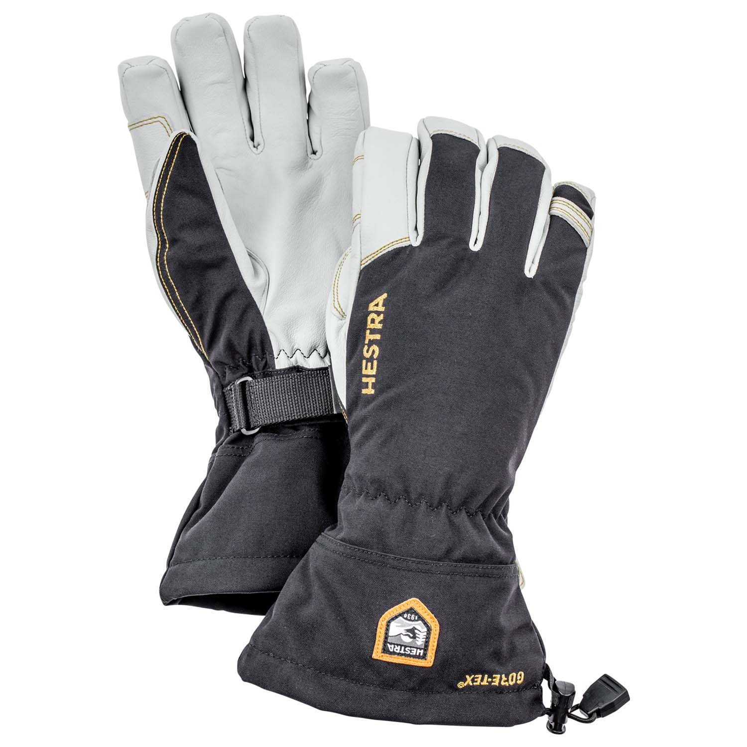 Hestra Army Leather Gore Tex Glove Black 2020