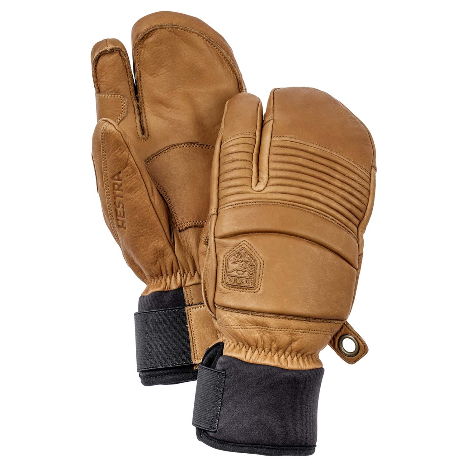 Hestra Leather Fall Line 3-Finger Glove Tan 2020