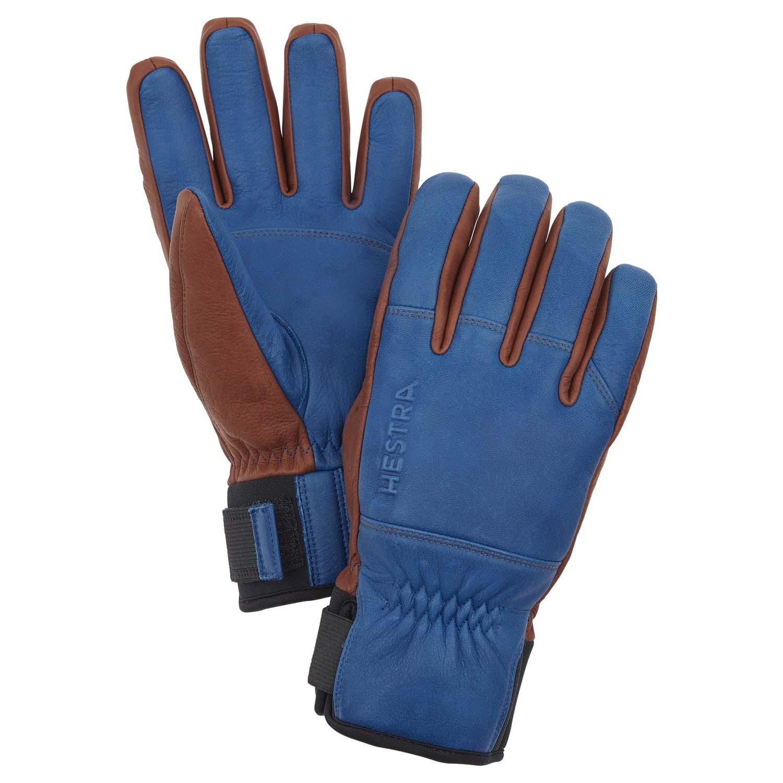 Hestra Omni Glove Blue/Brown 2020