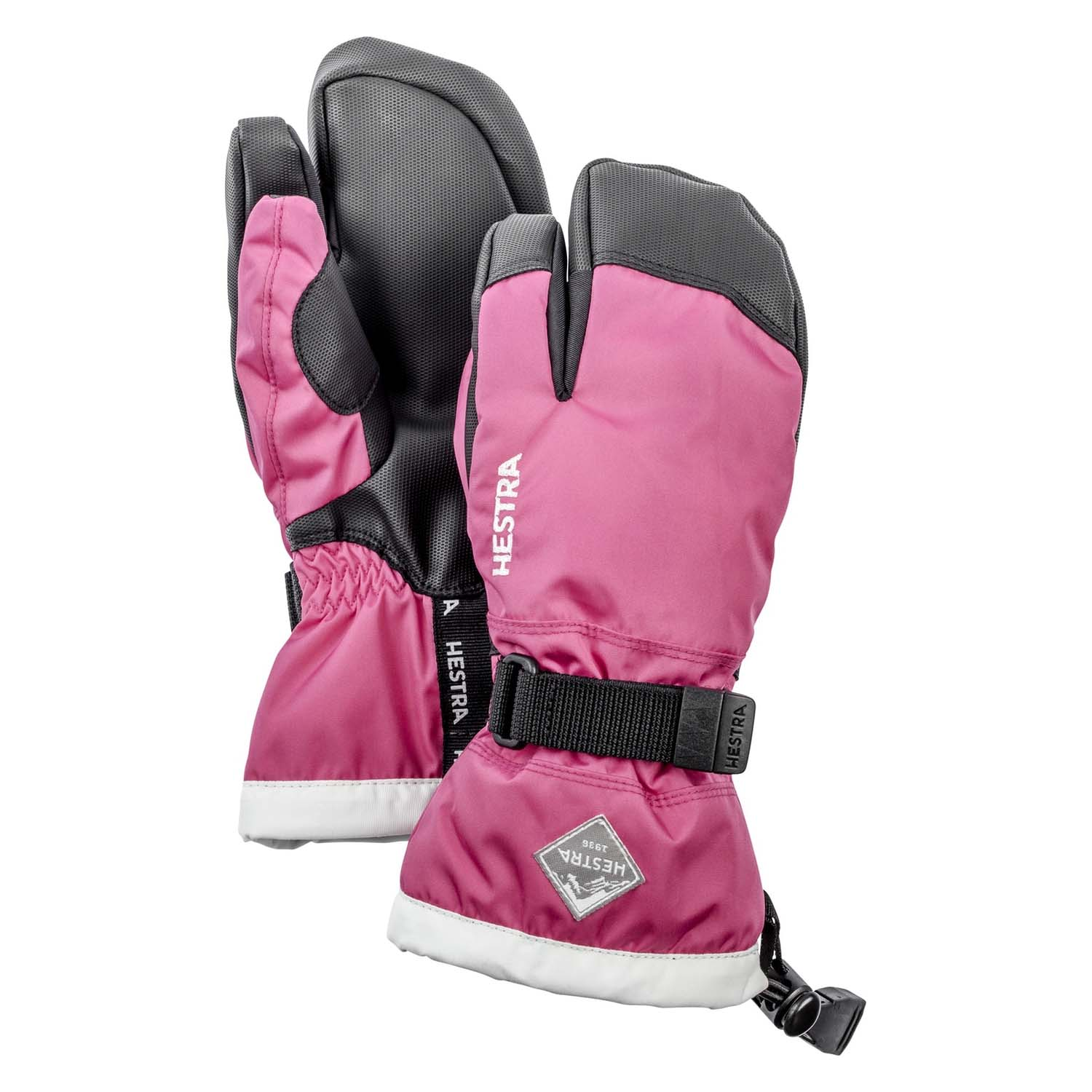 Hestra Gauntlet Czone Junior 3-Finger Glove Fuchsia 2020