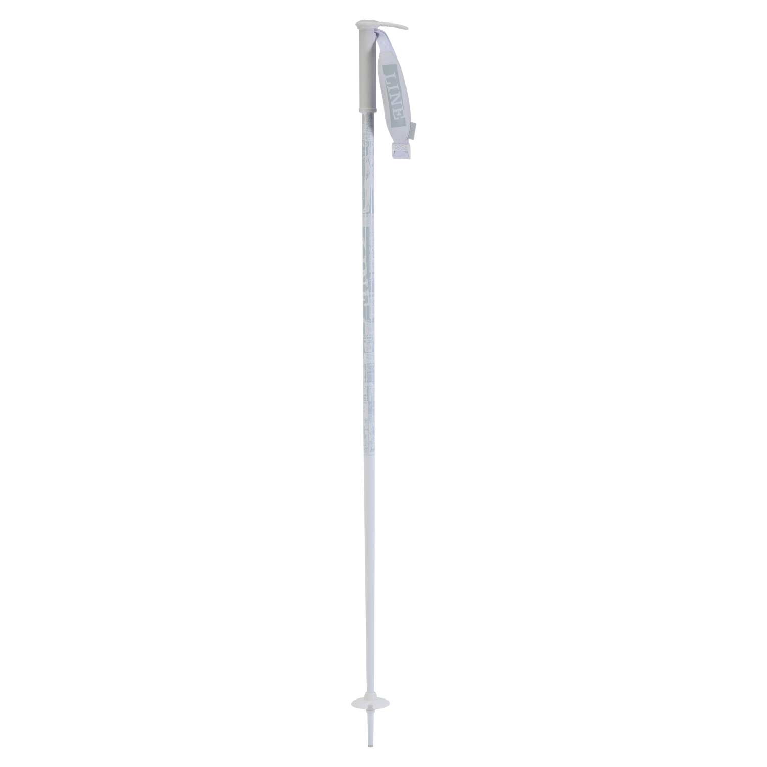 Line Pin Ski Pole White 2020