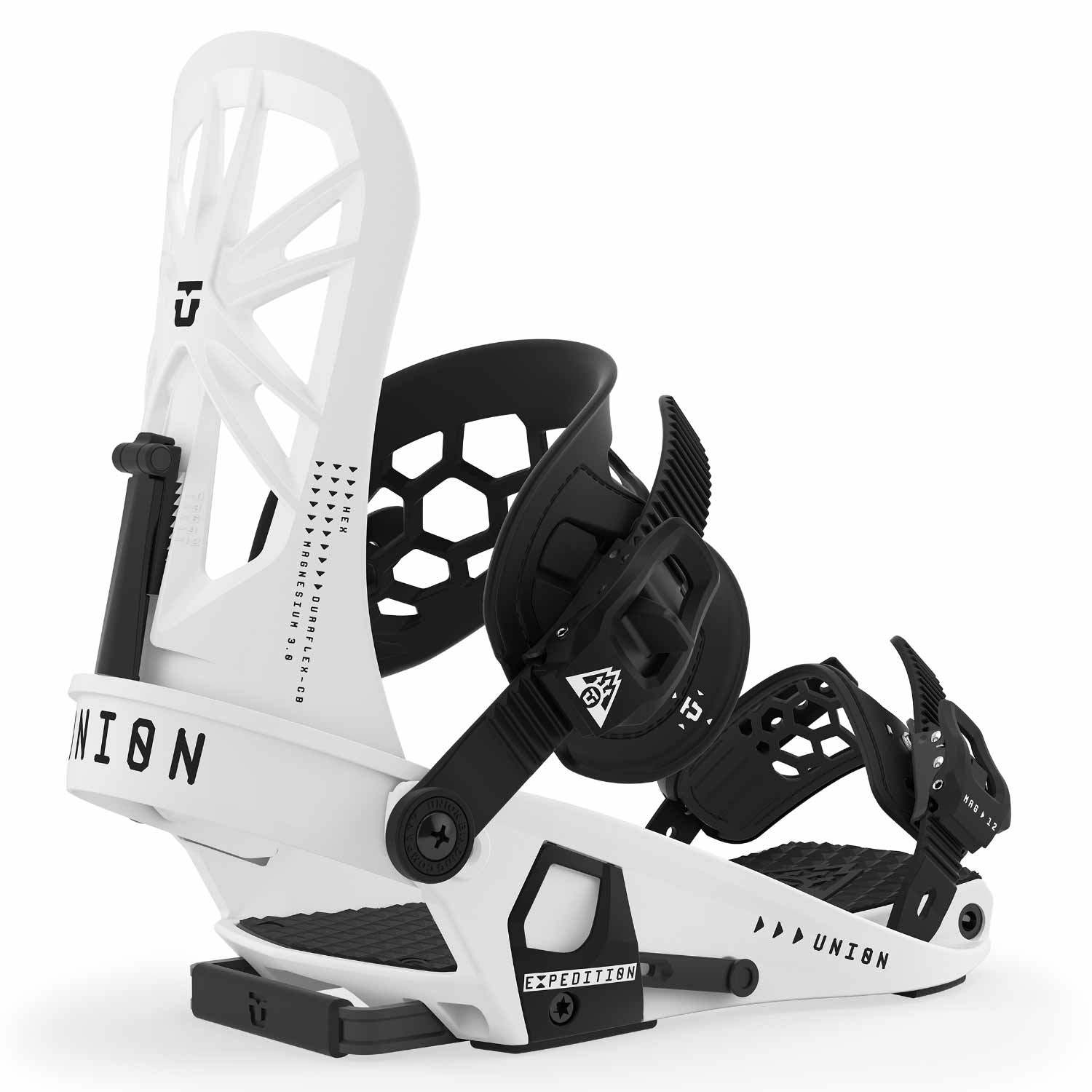 Union Expedition 2.0 Split Snowboard Binding White 2020