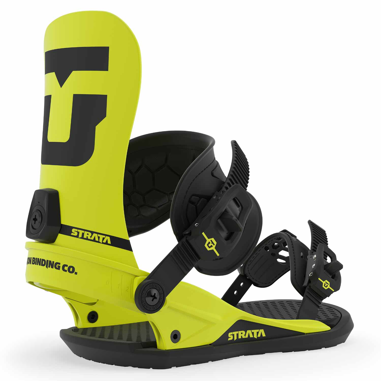 Union Strata Snowboard Binding Hazard Yellow 2020