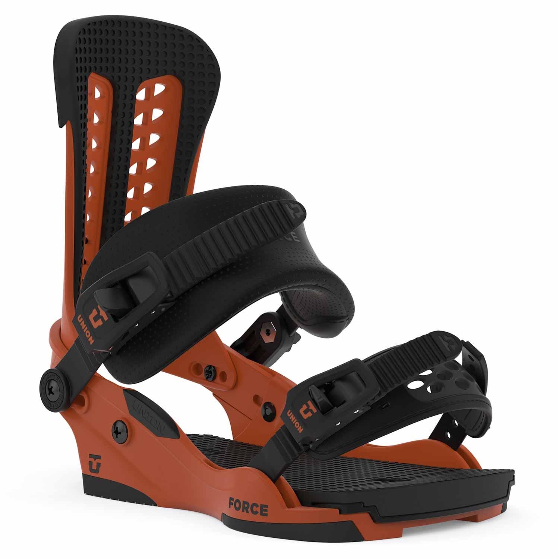 Union Force Snowboard Binding Burnt Orange 2020