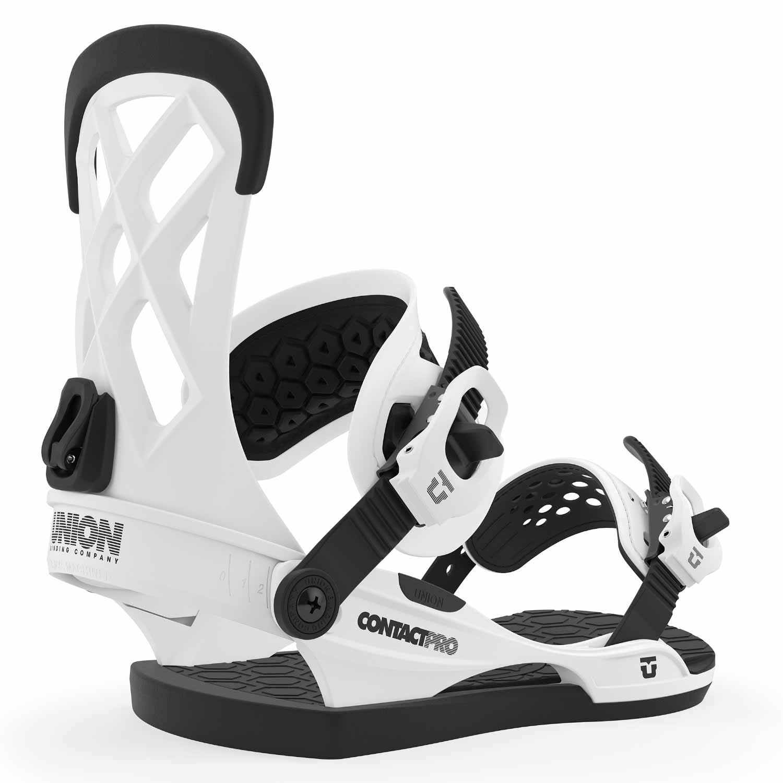 Union Contact Pro Snowboard Binding White 2020