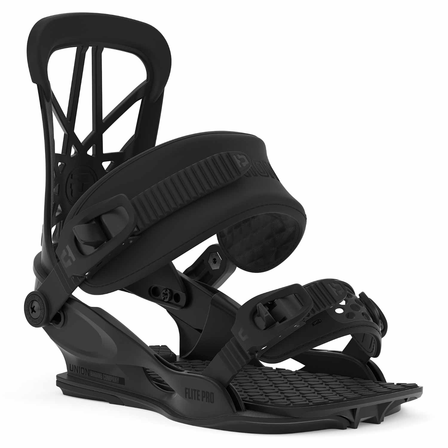 Union Flite Pro Snowboard Binding Black 2020